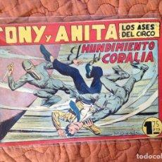 Tebeos: TONY Y ANITA-LOS ASES DEL CIRCO-Nº85. Lote 137409198