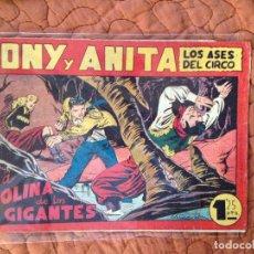 Tebeos: TONY Y ANITA-LOS ASES DEL CIRCO-Nº93. Lote 137409330