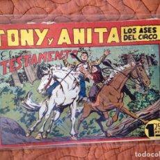 Tebeos: TONY Y ANITA-LOS ASES DEL CIRCO-Nº92. Lote 137409450