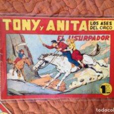 Tebeos: TONY Y ANITA-LOS ASES DEL CIRCO-Nº84. Lote 137409522
