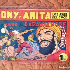 Tebeos: TONY Y ANITA-LOS ASES DEL CIRCO-Nº82. Lote 137409706