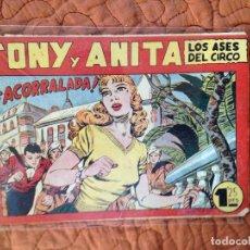 Tebeos: TONY Y ANITA-LOS ASES DEL CIRCO-Nº81. Lote 137409798