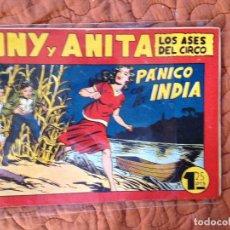 Tebeos: TONY Y ANITA-LOS ASES DEL CIRCO-Nº80. Lote 137409846
