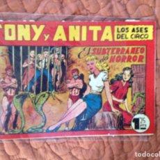 Tebeos: TONY Y ANITA-LOS ASES DEL CIRCO-Nº79. Lote 137409890