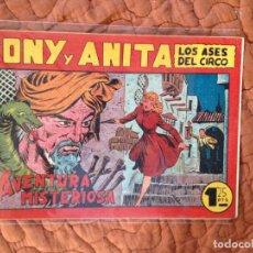 Tebeos: TONY Y ANITA-LOS ASES DEL CIRCO-Nº77. Lote 137410046