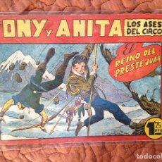 Tebeos: TONY Y ANITA-LOS ASES DEL CIRCO-Nº74. Lote 137410250