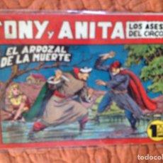 Tebeos: TONY Y ANITA-LOS ASES DEL CIRCO-Nº71. Lote 137410298