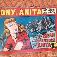 Tebeos: TONY Y ANITA-LOS ASES DEL CIRCO-Nº69. Lote 137410410
