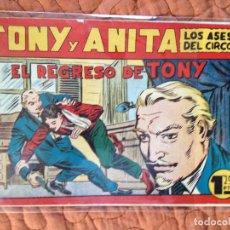 Tebeos: TONY Y ANITA-LOS ASES DEL CIRCO-Nº68. Lote 137410454
