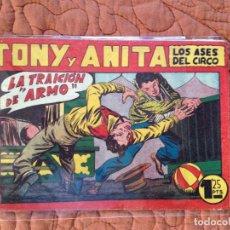 Tebeos: TONY Y ANITA-LOS ASES DEL CIRCO-Nº67. Lote 137410522
