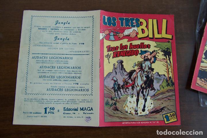 Tebeos: maga los tres bill y sus series hacha y espada-aquiles-imbatidos etc. - Foto 11 - 35237705