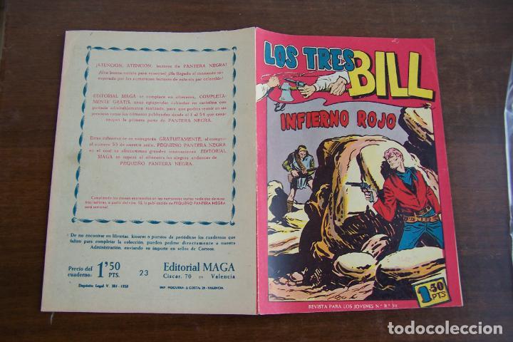 Tebeos: maga los tres bill y sus series hacha y espada-aquiles-imbatidos etc. - Foto 12 - 35237705