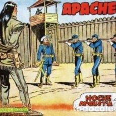 Tebeos: APACHE 1 Y 2 REEDICION 1963 COLECCION COMP DE 56 + 76 NUMEROS . – A ESTRENAR. Lote 137825110