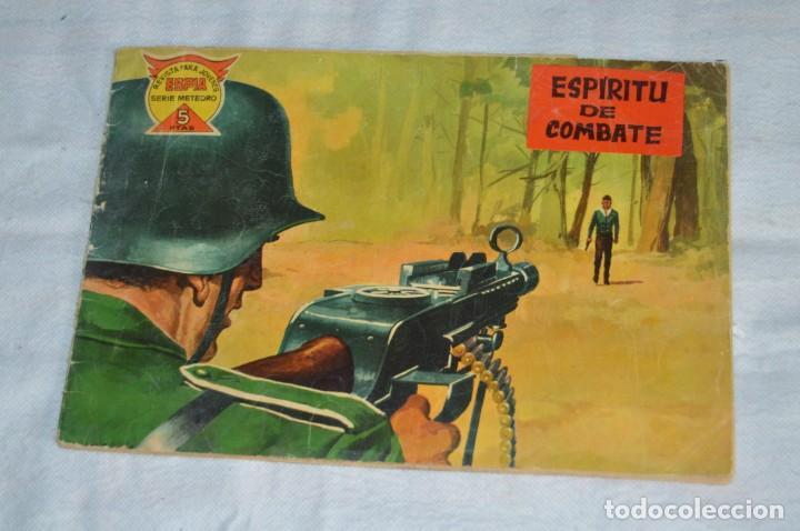 EL ESPIA - MAGA - Nº 17 - ESPÍRITU DE COMBATE - REVISTA PARA JÓVENES ESPÍA - SERIE METEORO (Tebeos y Comics - Maga - Otros)