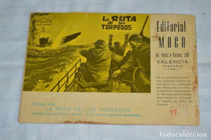 Tebeos: EL ESPIA - MAGA - Nº 17 - ESPÍRITU DE COMBATE - REVISTA PARA JÓVENES ESPÍA - SERIE METEORO - Foto 2 - 137850866