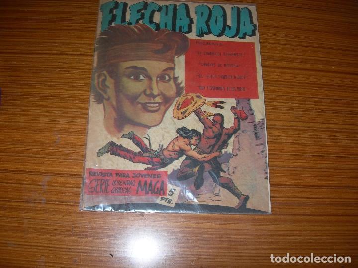 FLECHA ROJA REVISTA Nº 6 EDITA MAGA (Tebeos y Comics - Maga - Flecha Roja)