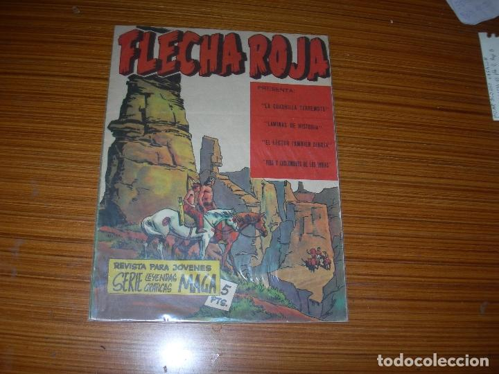 FLECHA ROJA REVISTA Nº 5 EDITA MAGA (Tebeos y Comics - Maga - Flecha Roja)