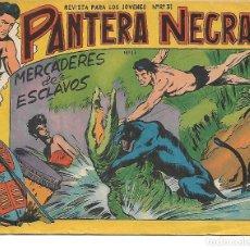 Tebeos: PANTERA NEGRA NUM 17 - ORIGINAL. Lote 138610762