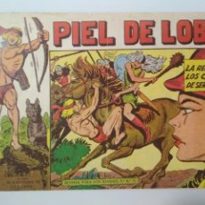 Tebeos: PIEL DE LOBO Nº 49, LA REINA DE LOS CABELLOS DE SERPIENTE, AÑO 1959, ORIGINAL, EDITORIAL MAGA. Lote 138991246
