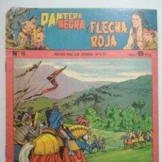 Tebeos: PANTERA NEGRA Y FLECHA ROJA - BAJO EL PODER DEL FARAON, Nº 70, ORIGINAL, AÑOS 60. Lote 139030458