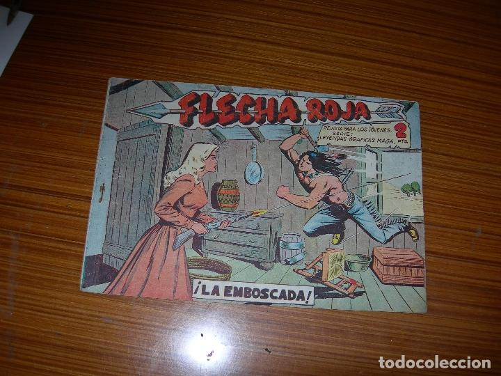 FLECHA ROJA Nº 2 EDITA MAGA (Tebeos y Comics - Maga - Flecha Roja)