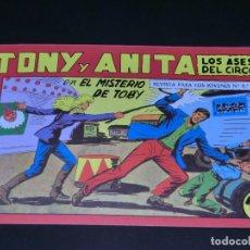 Tebeos: COMIC TONY Y ANITA - LOS ASES DEL CIRCO - EN EL MISTERIO DE TOBY - NÚMERO 151. Lote 139228750