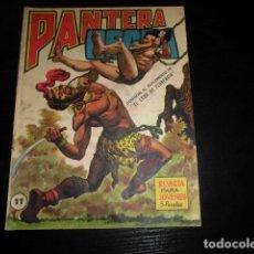 Tebeos: PANTERA NEGRA REVISTA Nº 11. ORIGINAL. MAGA.. Lote 139472118