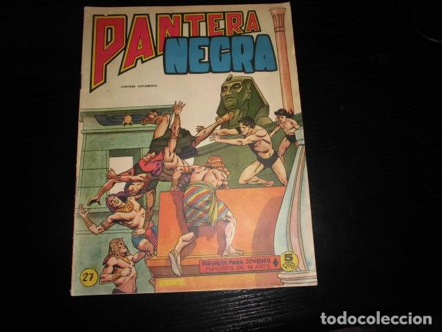 PANTERA NEGRA REVISTA Nº 27. ORIGINAL. MAGA. (Tebeos y Comics - Maga - Pantera Negra)