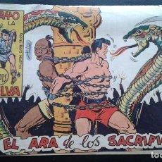 Tebeos: TEBEO / CÓMIC RAYO DE LA SELVA N 58 ORIGINAL 1959 MAGA EN EL ARA DE LOS SACRIFICIOS. Lote 139752746