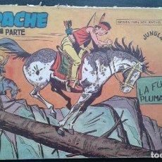 Tebeos: TEBEO / CÓMIC APACHE 2 PARTE N 44 ORIGINAL 1958 MAGA. Lote 139755194