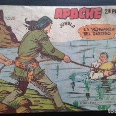 Tebeos: TEBEO / CÓMIC APACHE 2 PARTE N 41 ORIGINAL 1958 MAGA. Lote 139755778