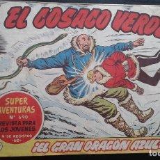 Tebeos: TEBEO / CÓMIC EL COSACO VERDE N 137 ORIGINAL 1962 BRUGUERA. Lote 139759366