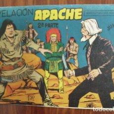Tebeos: COMIC TEBEO APACHE 2ª PARTE - REVELACIÓN - Nº II - 9 - EDITORIAL MAGA - 1,5 PESETAS . Lote 140280594