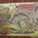 Tebeos: COMIC TEBEO APACHE 2ª PARTE - EL HACHA DE GUERRA - Nº II - 21 - EDITORIAL MAGA - 1,5 PESETAS. Lote 140280990