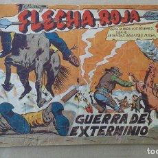 Tebeos: FLECHA ROJA REVISTA Nº 32. MAGA 1962.. Lote 139885086