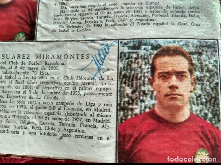 Tebeos: Excepcional 41 ejemplares encuadernados de oliman.autografos originales de jugadores de la seleccion - Foto 13 - 108690587