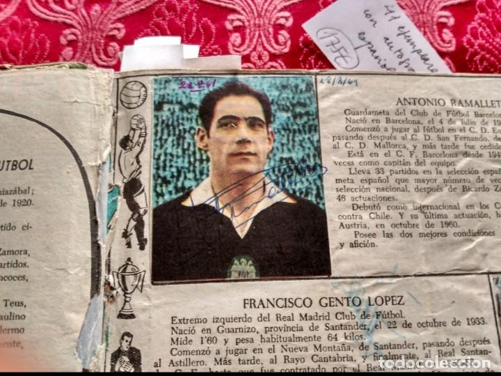 Tebeos: Excepcional 41 ejemplares encuadernados de oliman.autografos originales de jugadores de la seleccion - Foto 14 - 108690587