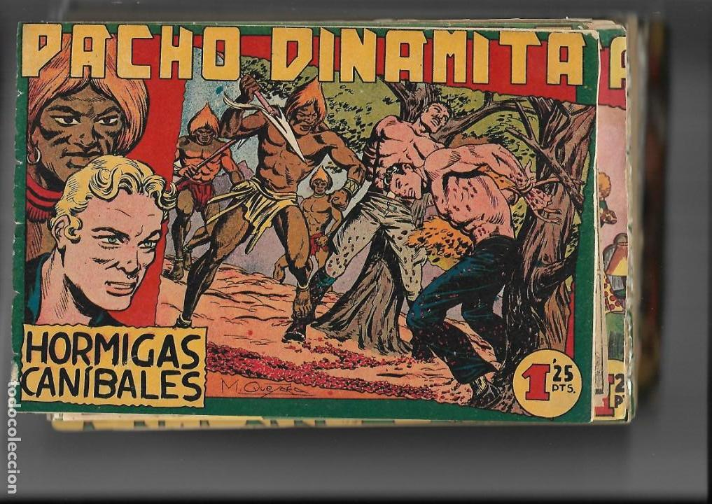 PACHO DINAMITA, AÑO 1.951. COLECCIÓN COMPLETA SON 139 TEBEOS ORIGINALES ES MUY DIFICIL DE COMPLETAR. (Tebeos y Comics - Maga - Pacho Dinamita)