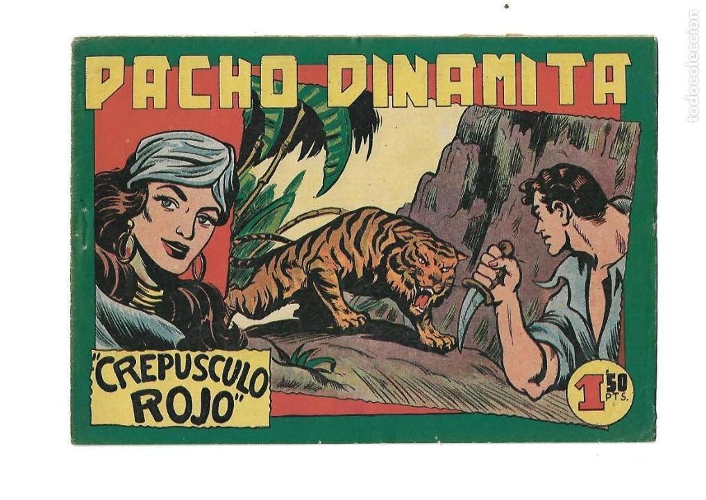 Tebeos: Pacho Dinamita, Año 1.951. Colección Completa son 139 Tebeos Originales es muy dificil de Completar. - Foto 6 - 140588382