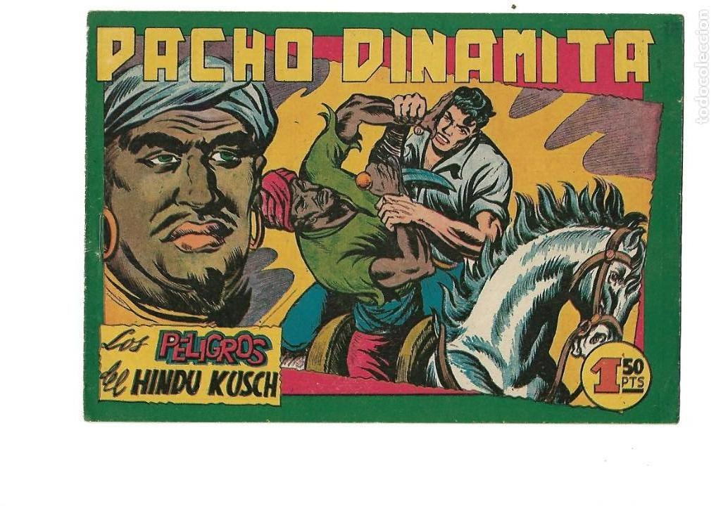 Tebeos: Pacho Dinamita, Año 1.951. Colección Completa son 139 Tebeos Originales es muy dificil de Completar. - Foto 7 - 140588382