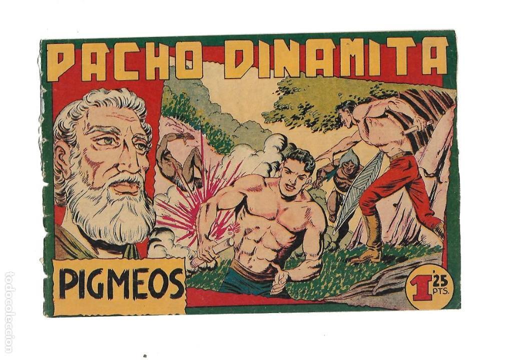 Tebeos: Pacho Dinamita, Año 1.951. Colección Completa son 139 Tebeos Originales es muy dificil de Completar. - Foto 4 - 140588382