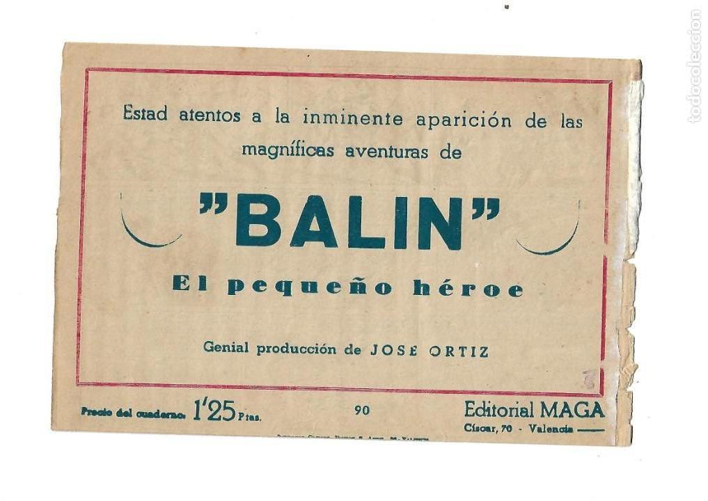Tebeos: Pacho Dinamita, Año 1.951. Colección Completa son 139 Tebeos Originales es muy dificil de Completar. - Foto 5 - 140588382