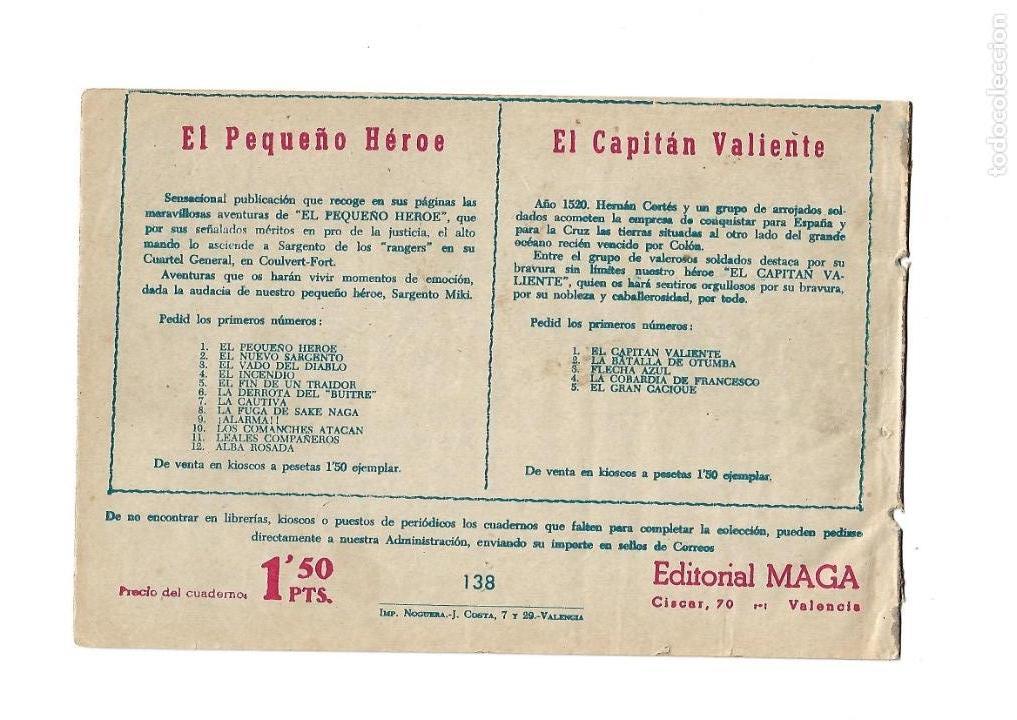 Tebeos: Pacho Dinamita, Año 1.951. Colección Completa son 139 Tebeos Originales es muy dificil de Completar. - Foto 10 - 140588382