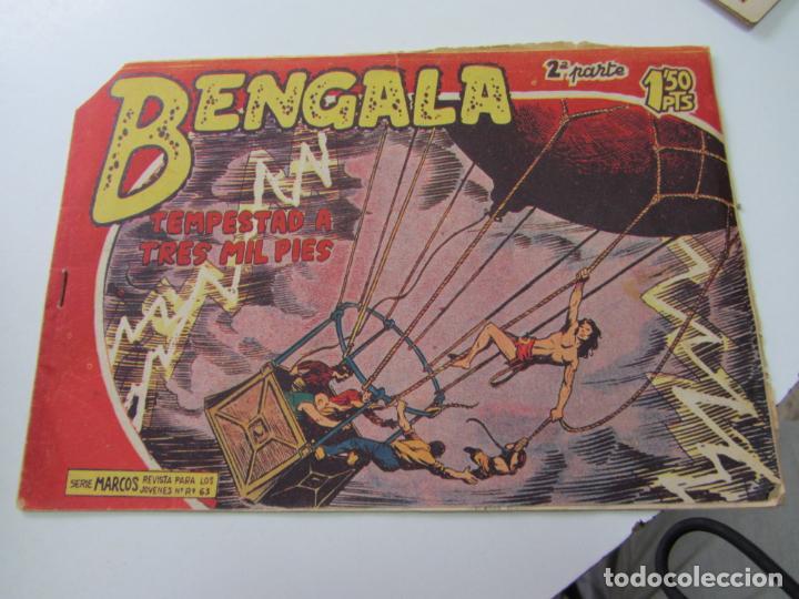 BENGALA 2ª SERIE Nº 28 EDITORIAL MAGA 1959 ORIGINAL C12 (Tebeos y Comics - Maga - Bengala)