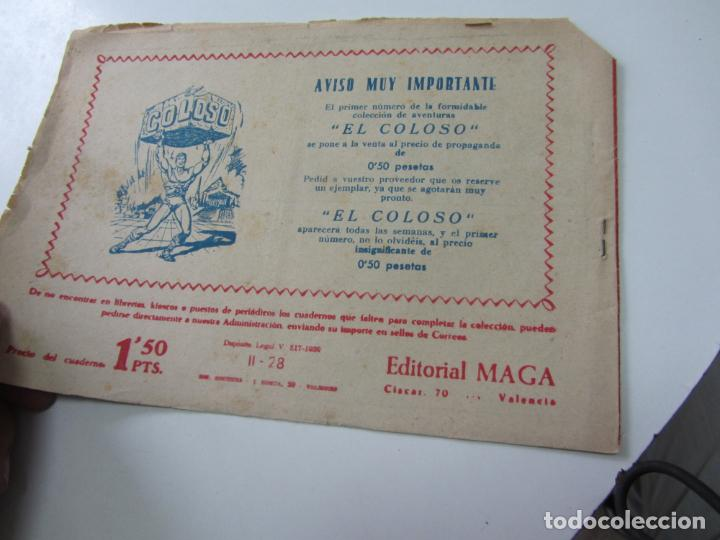 Tebeos: BENGALA 2ª serie Nº 28 EDITORIAL MAGA 1959 ORIGINAL c12 - Foto 2 - 140595818