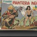 Tebeos: PEQUEÑO PANTERA NEGRA, AÑO 1.961. COLECCIÓN COMPLETA SON 205 TEBEOS ORIGINALES DIBUJOS DE M. QUESADA. Lote 140835610