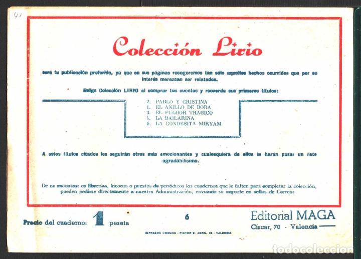 Tebeos: TEBEOS-COMICS CANDY - LIRIO - 6 - MAGA - ORIGINAL - RARO *AA98 - Foto 2 - 141561582