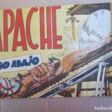 Tebeos: APACHE , NUMERO 45 , RIO ABAJO , MAGA 1959. Lote 141840494