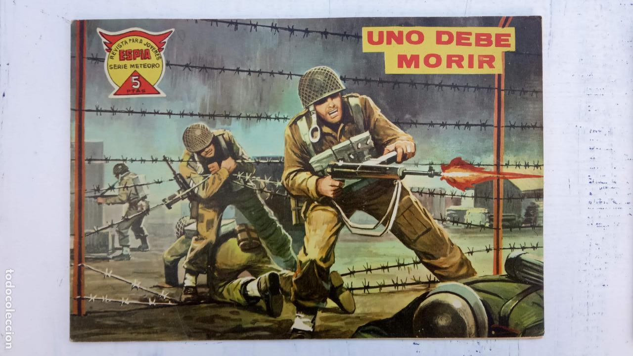 Tebeos: ESPIA SERIE METEORO 70 NºS EN MAGNÍFICO ESTADO, SIN PICOS CORTADOS, ESTÁN 1 Y ÚLTIMO VER FOTOS TODAS - Foto 84 - 142384778