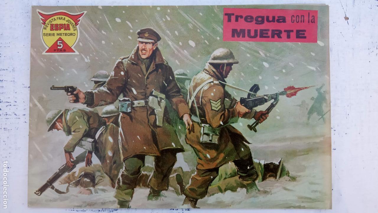 Tebeos: ESPIA SERIE METEORO 70 NºS EN MAGNÍFICO ESTADO, SIN PICOS CORTADOS, ESTÁN 1 Y ÚLTIMO VER FOTOS TODAS - Foto 87 - 142384778